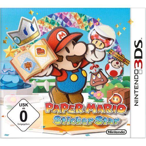 Nintendo - Paper Mario: Sticker Star - Preis vom 05.09.2020 04:49:05 h