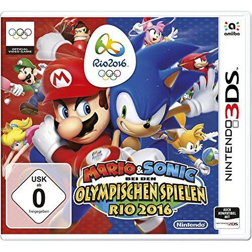 Nintendo - Mario&Sonic bei den Olympischen Spielen: Rio 2016 - [3DS] - Preis vom 14.05.2021 04:51:20 h