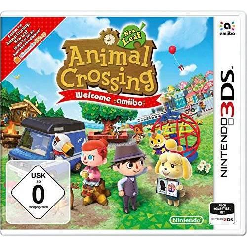 Nintendo - Animal Crossing: New Leaf - Welcome amiibo (ohne amiibo Karte) - Preis vom 19.01.2021 06:03:31 h