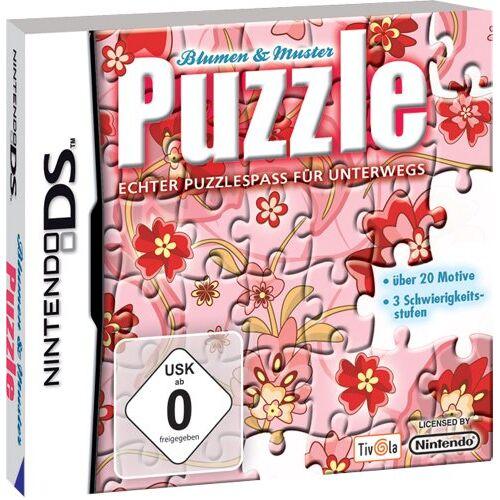 Tivola - Puzzle - Blumen und Muster - Preis vom 25.02.2021 06:08:03 h