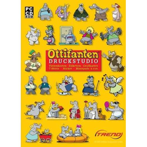 Trend Verlag - Ottifanten - Druckstudio - Preis vom 20.10.2020 04:55:35 h