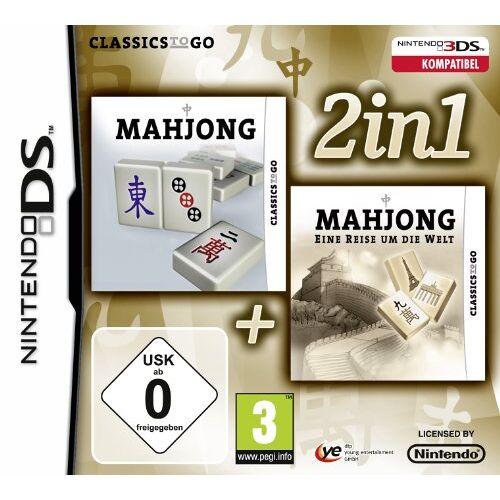Treva Entertainment GmbH - 2 in 1: Mahjong + Mahjong - Eine Reise um die Welt - Preis vom 20.10.2020 04:55:35 h