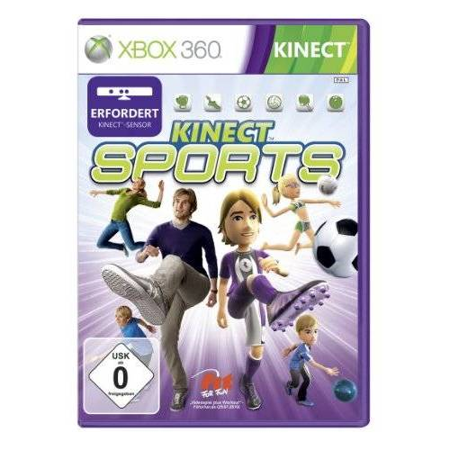 Microsoft - Kinect Sports (Kinect erforderlich) - Preis vom 20.10.2020 04:55:35 h