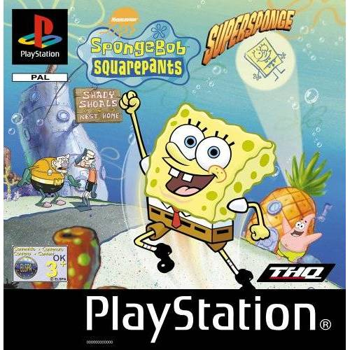 THQ - SpongeBob Suqarepants - Supersponge - Preis vom 04.04.2020 04:53:55 h