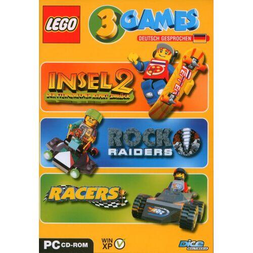 Dice - Lego 3 Games Pack (Insel 2 / Rock Raiders / Racers) - Preis vom 22.01.2020 06:01:29 h