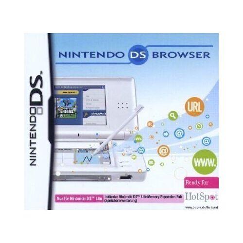 Nintendo - Nintendo DS Lite - Browser inkl. Memory Expansion Pack - Preis vom 18.04.2021 04:52:10 h