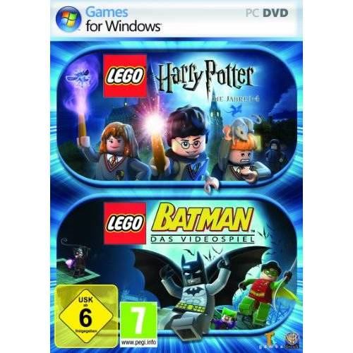 Lego - Lego Harry Potter - Die Jahre 1 - 4 + Lego Batman - Preis vom 04.04.2020 04:53:55 h