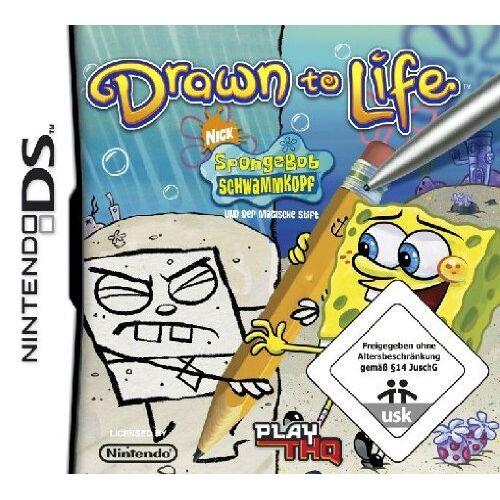 THQ - SpongeBob und der magische Stift - Drawn to Life - Preis vom 18.04.2021 04:52:10 h