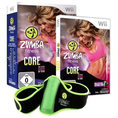 505 Games - Zumba Fitness Core (inkl. Fitnessgürtel) - Preis vom 20.10.2020 04:55:35 h