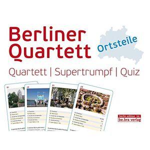 - Berliner Quartett - Ortsteile: Quartett, Supertrumpf und Quiz in einem! Abwechslungsreicher Spielspaß garantiert! - Preis vom 28.09.2020 04:48:40 h