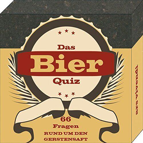 Barbara Dicker - Bier-Quiz - 66 unterhaltsame Fragen rund um den Gerstensaft - Das perfekte Partyspiel und das ideale Geschenk für jeden Bierliebhaber: 66 Fragen rund um den Gerstensaft - Preis vom 05.05.2021 04:54:13 h