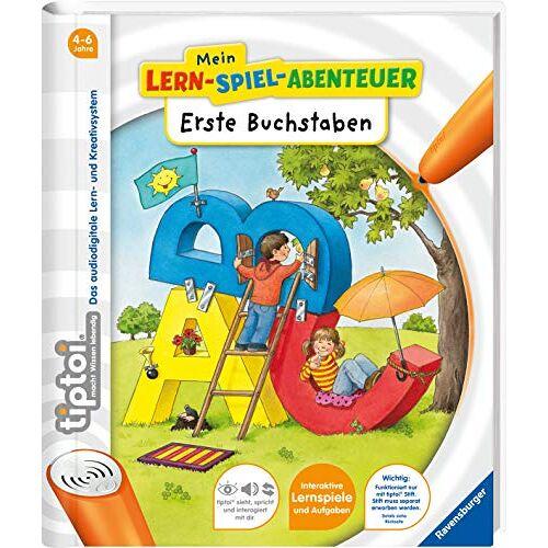 Eva Odersky - tiptoi® Erste Buchstaben (tiptoi® Mein Lern-Spiel-Abenteuer) - Preis vom 10.05.2021 04:48:42 h