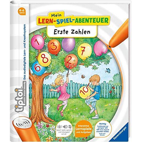 Eva Odersky - tiptoi® Erste Zahlen (tiptoi® Mein Lern-Spiel-Abenteuer) - Preis vom 10.05.2021 04:48:42 h
