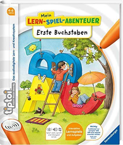 Eva Odersky - tiptoi® Erste Buchstaben (tiptoi® Mein Lern-Spiel-Abenteuer) - Preis vom 23.10.2021 04:56:07 h