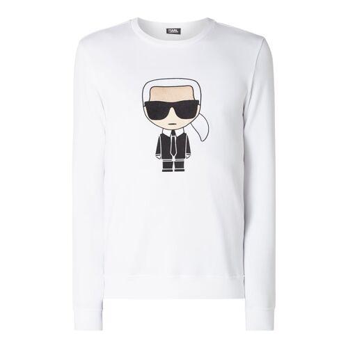 Karl Lagerfeld Sweatshirt mit Karl-Stickerei