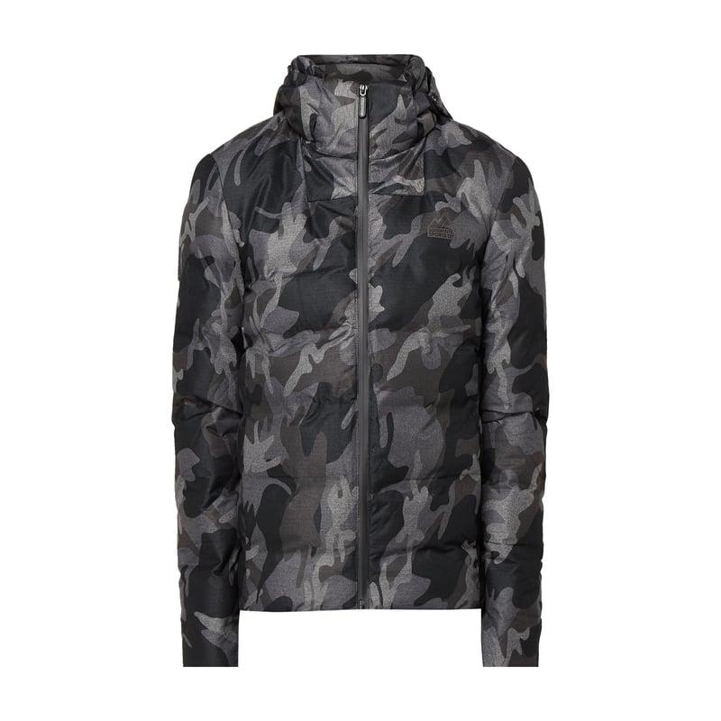 Superdry Jacke mit Camouflage-Muster - wattiert