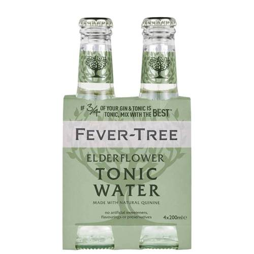 "Fever-Tree Tonic Water ""elderflower"""