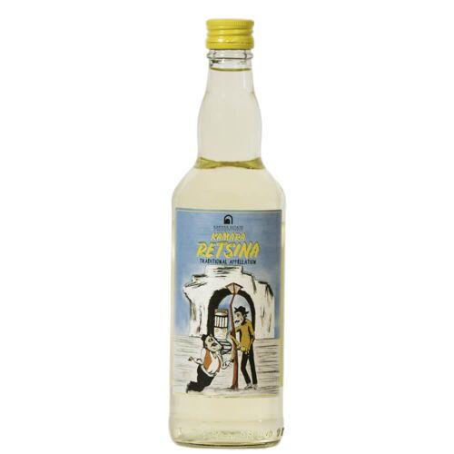 Kamara Winery Vino Bianco Retsina
