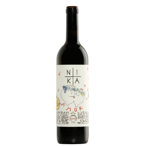 "Nika Bakhia Georgian Wine Saperavi ""amor"" 2018"