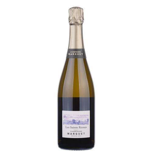 """Marguet Père & Fils Champagne Brut Nature Grand Cru Aoc """"les Saints Rémys"""" 2014"""