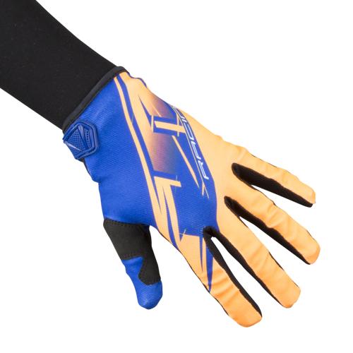 JT Racing Handschuhe JT Racing Prime Blau-Orange L (10)