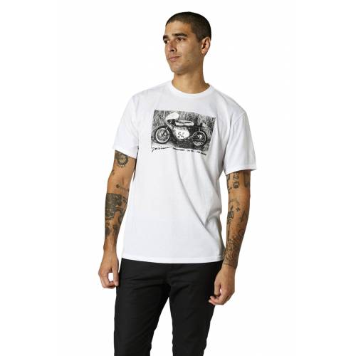 FOX T-Shirt FOX Racing Yoshimura Racer Weiß M