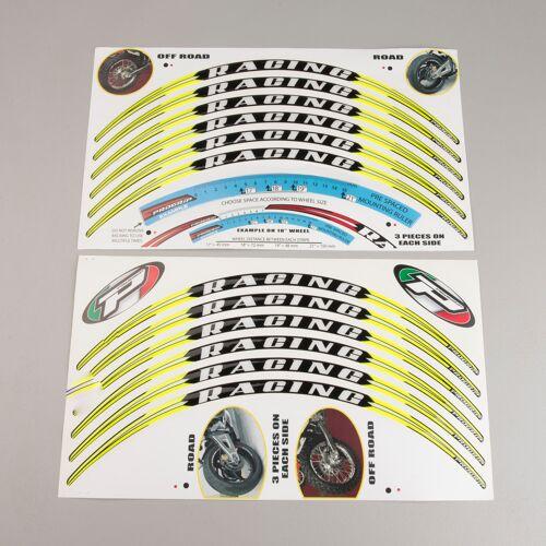 Progrip Felgenaufkleber Stripes Progrip 12er-Pack