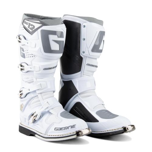 Gaerne Crossstiefel Gaerne SG-12 Weiß 43