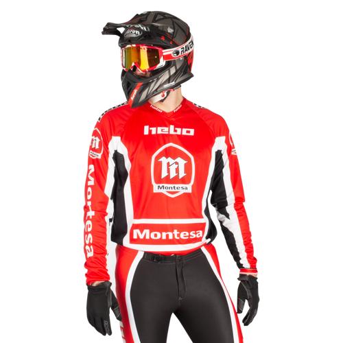 Hebo Crossshirt Hebo Montesa Classic III Rot S