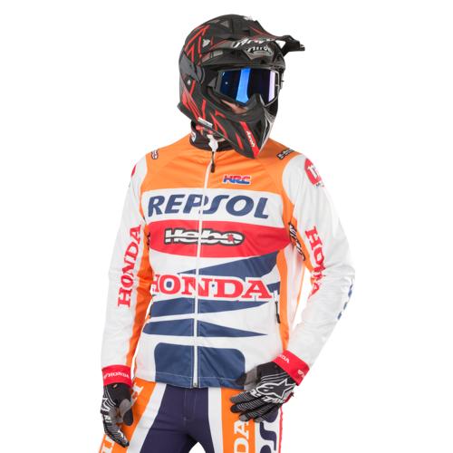 Hebo Jacke Hebo Wind Pro Montesa Team Orange M