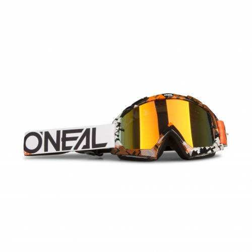 O'Neal Crossbrille O'Neal B-10 Pixel Orange-Weiß