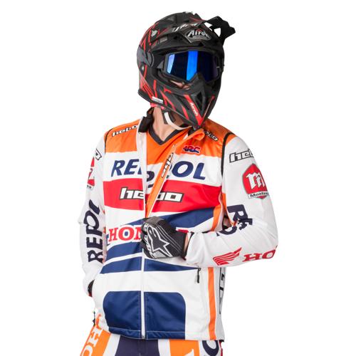 Hebo Weste Hebo Montesa Team Orange L