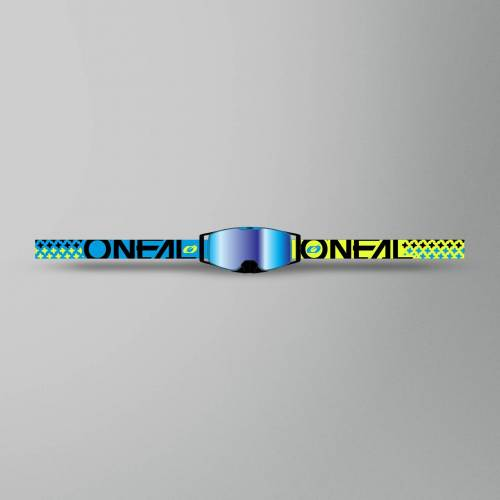 O'Neal Brille O'Neal B-30 Blau-Gelb