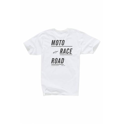 Alpinestars T-Shirt Alpinestars Moto Weiß