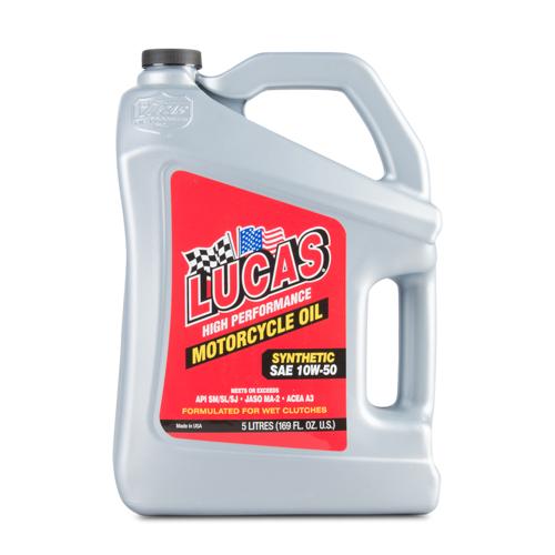 Lucas Oil SAE 10W-40 Teilsynthetisches Motoröl 5L
