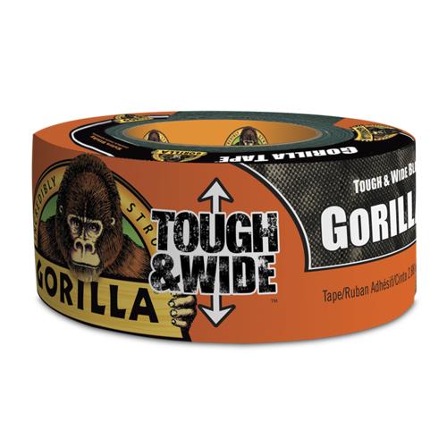 Gorilla Klebeband Gorilla Tough & Wide Schwarz 73mm x 27m