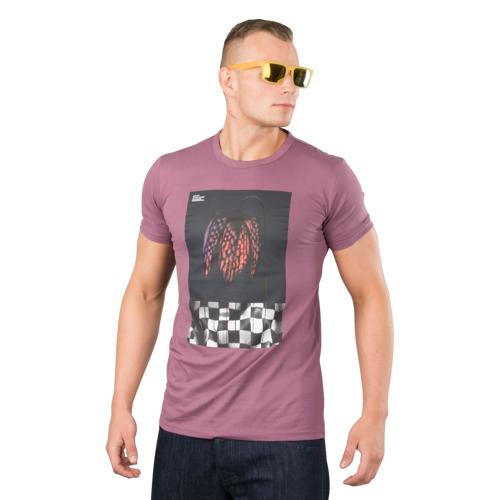 Dainese T-Shirt Dainese Demon-Flower 72 Lila L