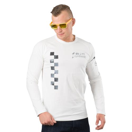 Dainese T-Shirt Dainese Lightning 72 Weiß M