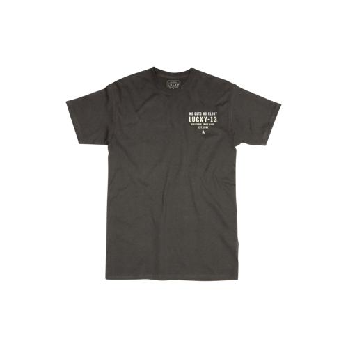 Lucky 13 T-Shirt Lucky 13 Fubar Schwarz 4XL