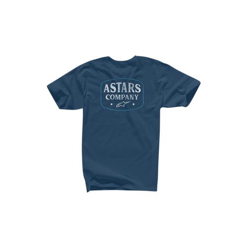 Alpinestars T-Shirt Alpinestars Western Navy