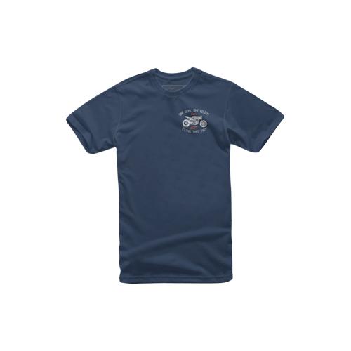 Alpinestars T-Shirt Alpinestars The Bike Navy