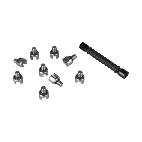 Holeshot Speichenschlüssel mit 10 Köpfen 5,2-7