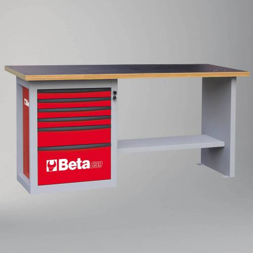 Beta Tools Werkbank mit 6 Schubladen Beta Tools