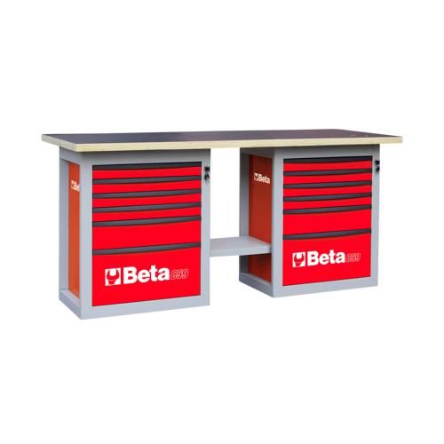 Beta Tools Werkbank mit 12 Schubladen Beta Tools