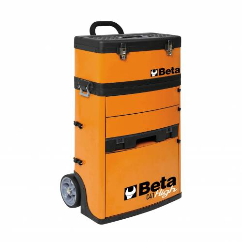Beta Tools Trolley Beta Tools mit 2 stapelbaren Modulen
