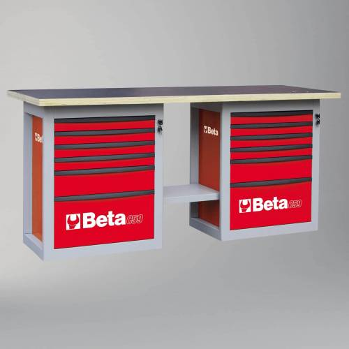 Beta Tools Werkbank mit 12 Schubladen Beta Tools