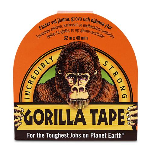 Gorilla Klebeband Gorilla Schwarz 48mm x 32m