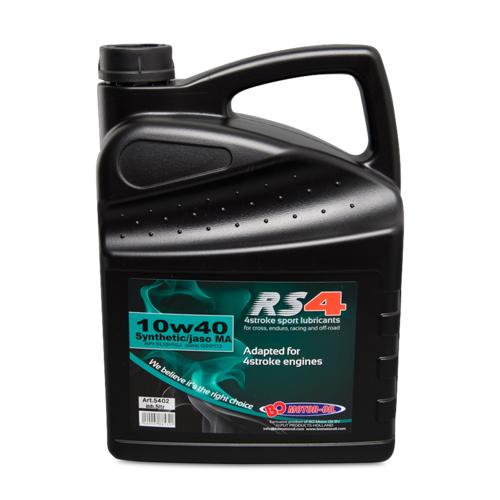 BO Oil Motoröl BO Oil RS4 SPORT 10W40 4T 5l