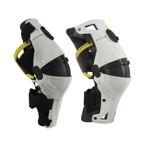 Mobius Knieschützer Mobius X8 Weiß/Gelb XS