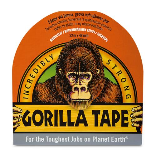 Gorilla Klebeband Gorilla Silber 48mm x 32m